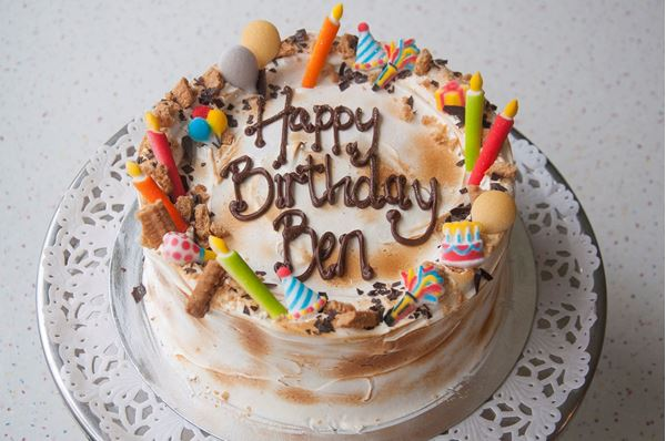 Picture of S'mores Celebration Cake