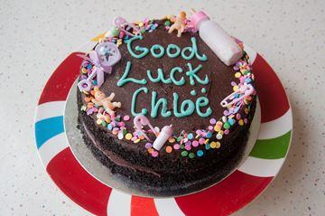 Picture of Vegan Chocolate Celebration Cake