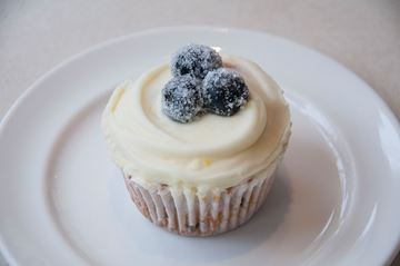 Picture of Blueberry Cheesecake Cupcake