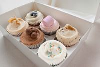 Picture of Luxury Gift Box - 6 Regular Cupcakes