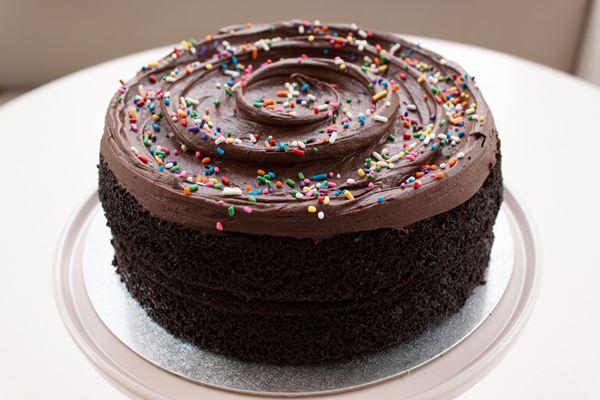 Picture of Vegan Chocolate Layer Cake