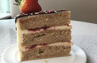 Picture of Strawberry Sundae Layer Cake
