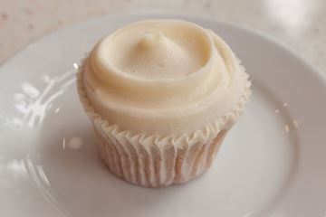 Picture of Vegan Vanilla Cupcake