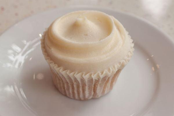 Picture of Vegan Vanilla Cupcake