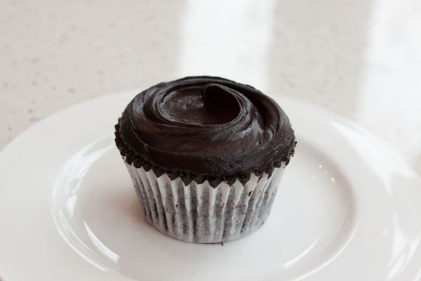 Picture of Vegan Chocolate Cupcake