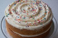 Picture of Vegan Vanilla Layer Cake