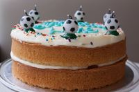 Picture of Vegan Vanilla Celebration Cake