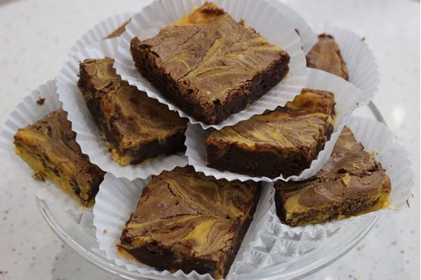 Picture of Pumpkin Cheesecake Brownie
