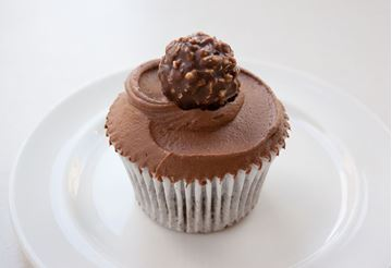 Picture of Nutella Cupcake