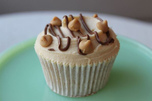Picture of Peanut Butter & Banana Cupcake