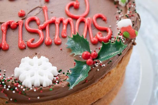 Picture of Christmas Celebration Cake