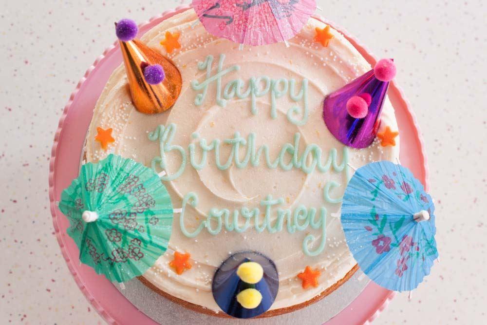 Aperol Spritz Celebration Cake