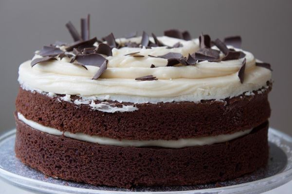 Picture of Chocolate with Vanilla Layer Cake