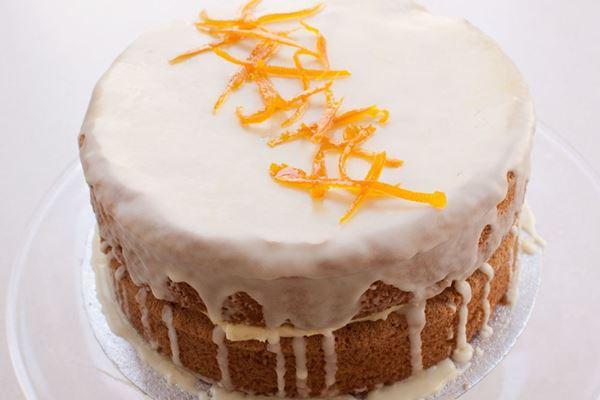 Picture of Orange Layer Cake