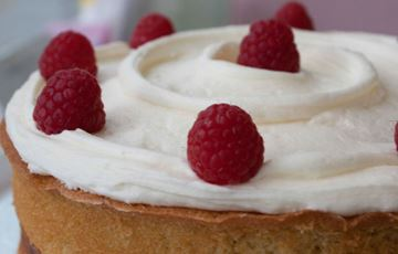 Picture of Raspberry White Chocolate Layer Cake