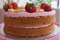 Picture of Strawberry Celebration Cake