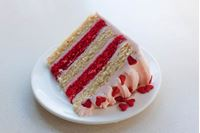 Picture of Valentine's Stripey Cake