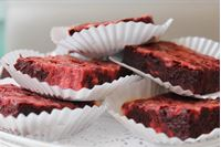 Picture of Red Velvet Cheesecake Brownie
