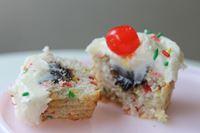 Picture of Gluten Free Banana Split Cupcake