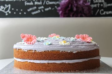 "Picture of Large 14"" Round Vanilla Cake"