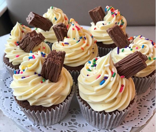 Picture of 99 Flake Cupcake