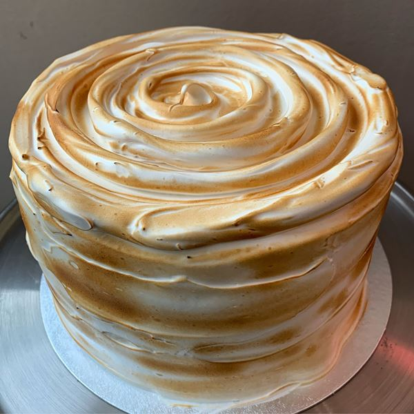 Picture of Vanilla Meringue Cake