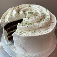 Picture of Matcha Meringue Cake